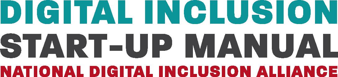 Digital Inclusion Start-Up Manual