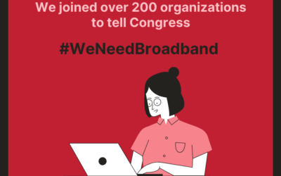 217 organizations, 100,000+ petition signers call for affordable broadband measures in COVID-19 stimulus
