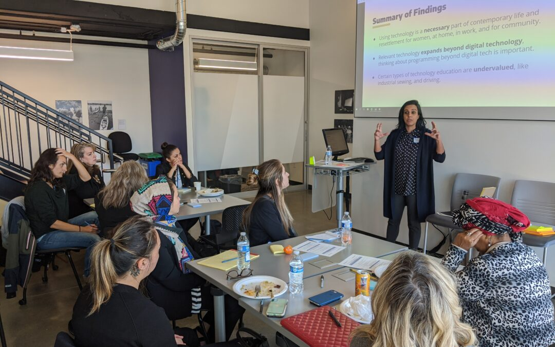 Welcoming Week: Digital inclusion for refugee women in Seattle and King County