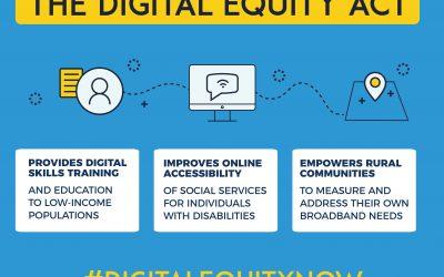 Digital Equity Act 2021 Has Bi-Partisan Co-Sponsors!