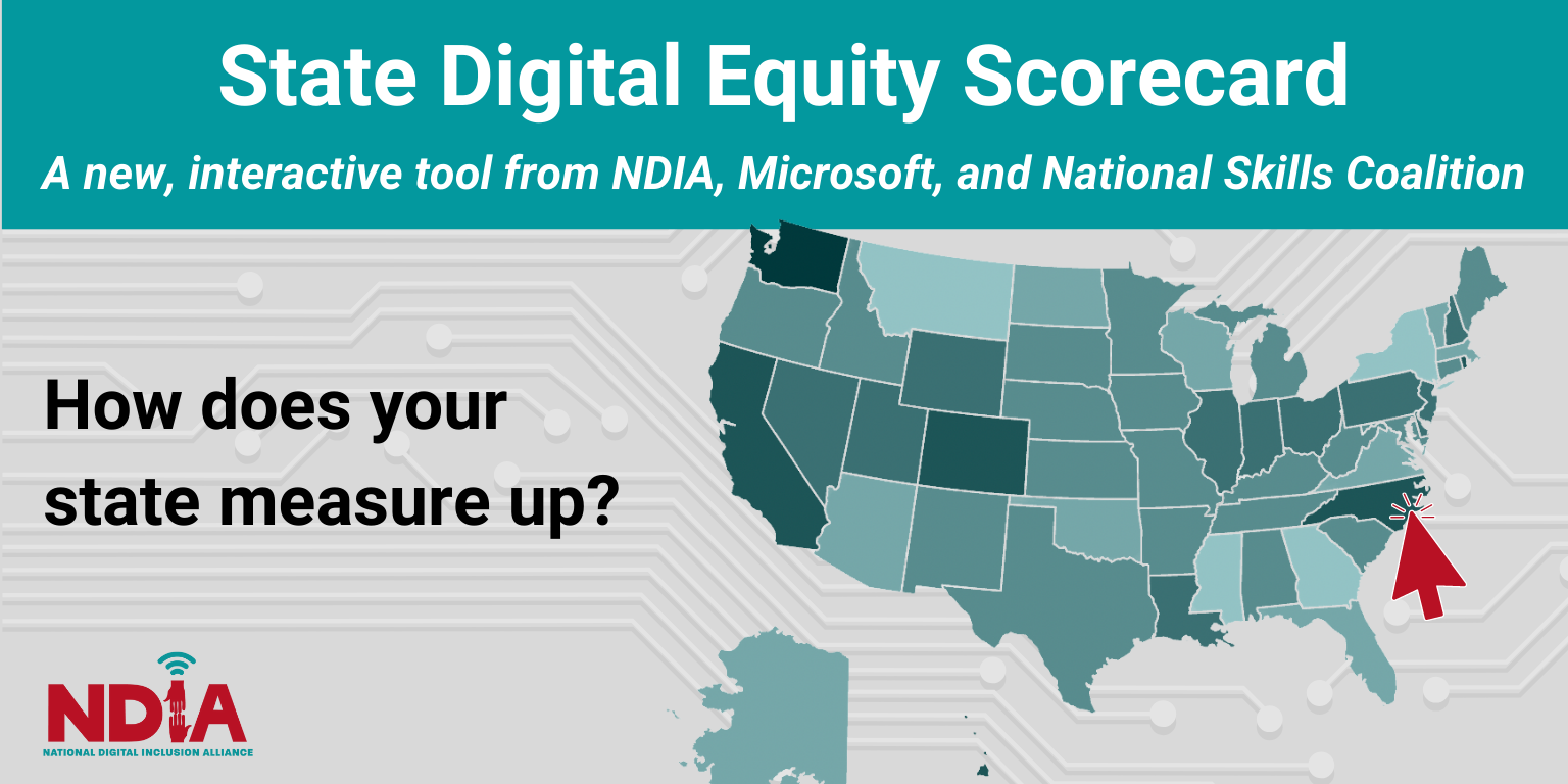 How does your state measure up? State digital equity scorecard