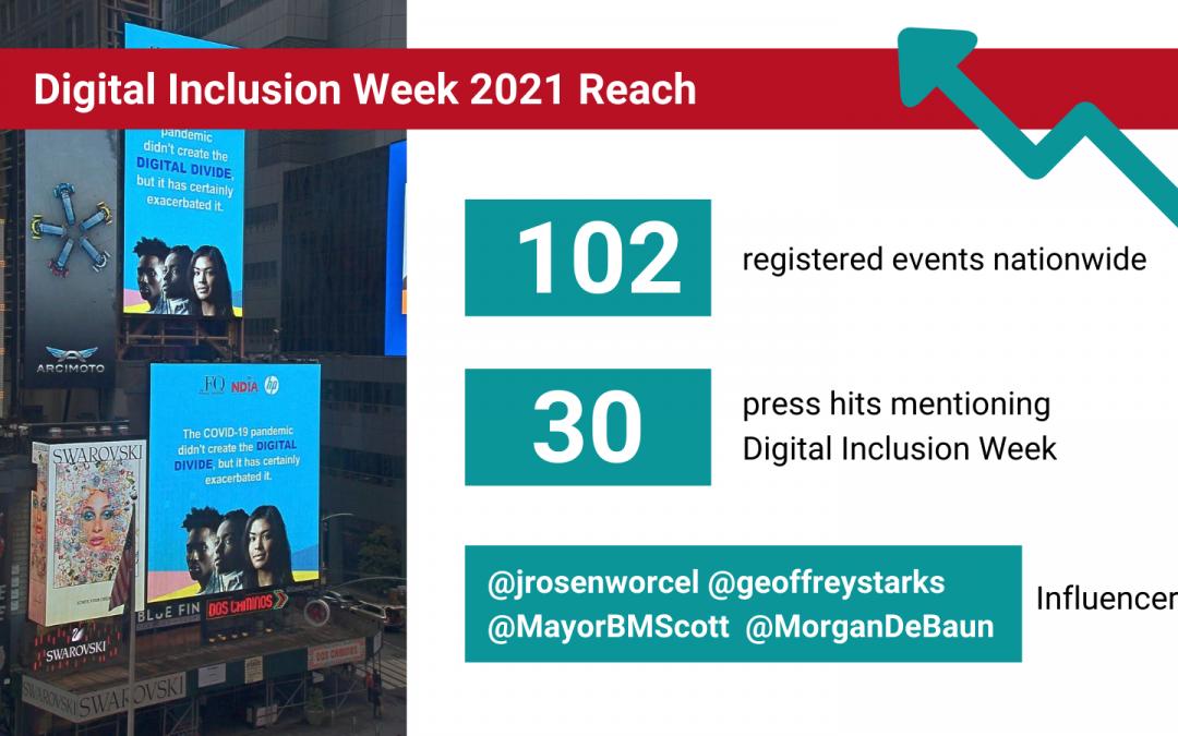 Digital Inclusion Week 2021 Was a Huge Success